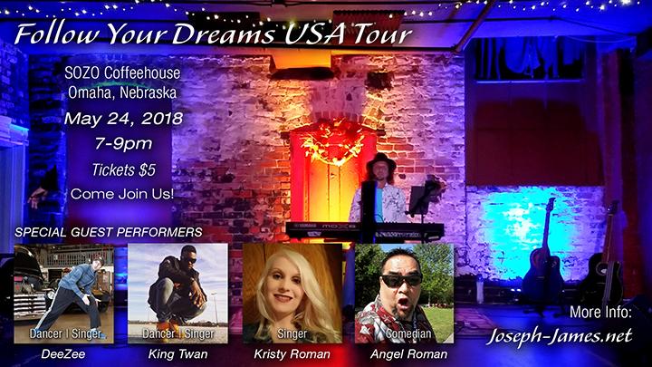 Follow Your Dreams Tour | Omaha, NE | 05/2018