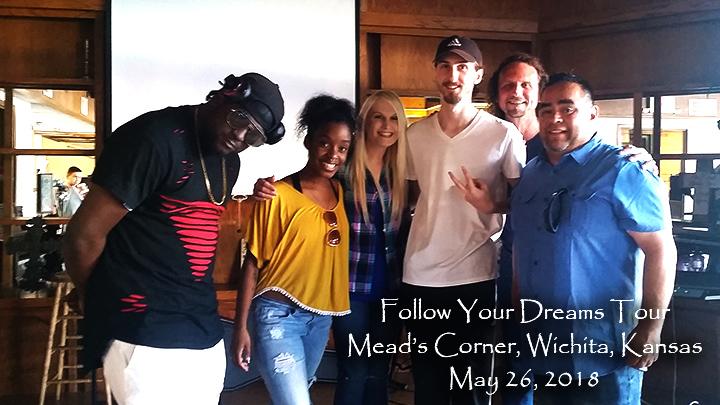 Follow Your Dreams Tour | Wichita, KS | Meads Corner | 05.26.18