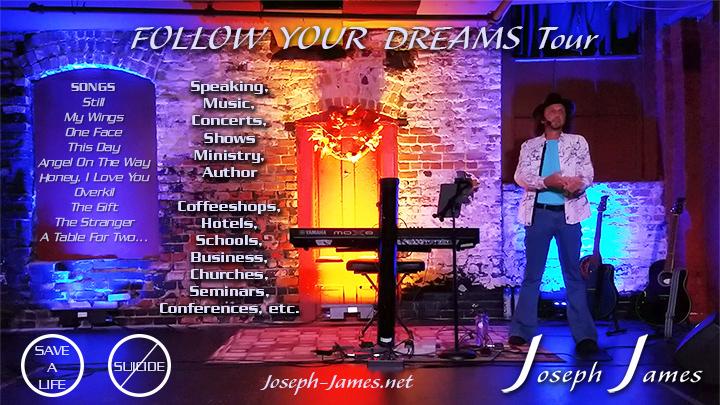 GameChangers Universal | Joseph James | Follow Your Dream Tour