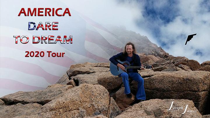DARE TO DREAM 2020 TOUR   JOSEPH JAMES